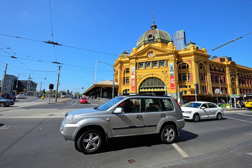 australia transport: driving