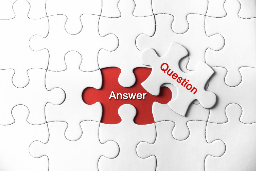 exam tips Answer the question jigsaw puzzle