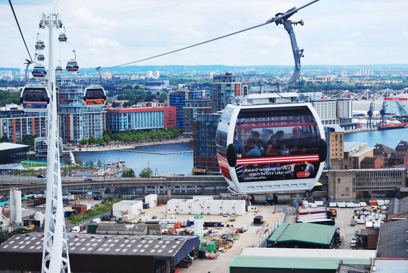 Hacks For International Students In London - Emirates Air Line