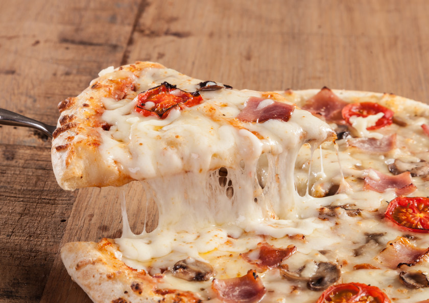 Hacks For International Students In London - pizza