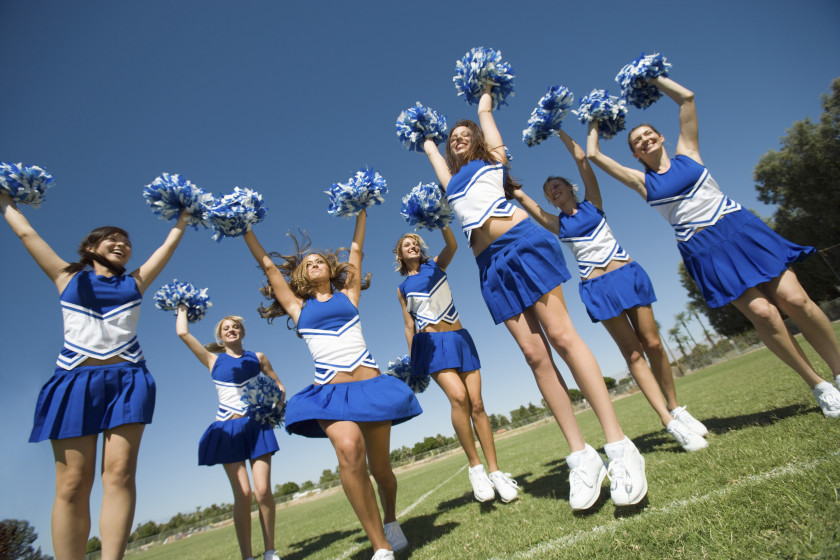 need to know about freshers' week - cheerleading