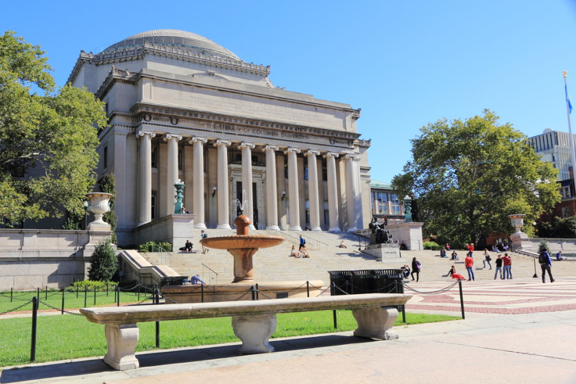 best us colleges for international - Columbia University