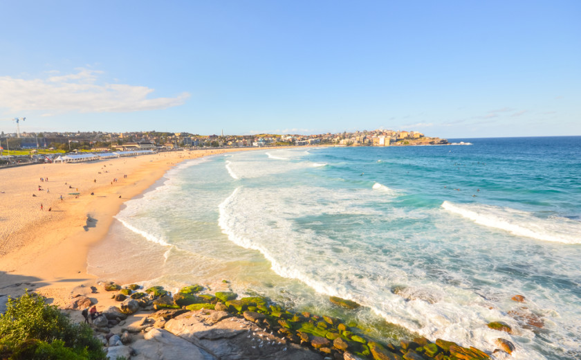 money abroad - bondi beach, australia
