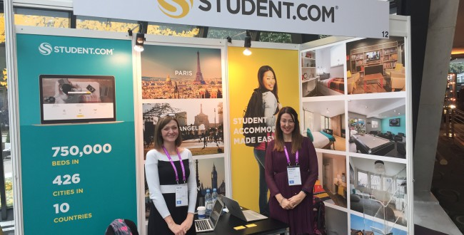 Student.com Makes New Connections At ICEF Berlin