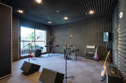 Hub on Campus Madison_Recording Studio_US_luxury_student_homes