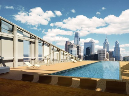 evo at Cira Centre South_rooftop pool_US_Luxury_Student_Homes