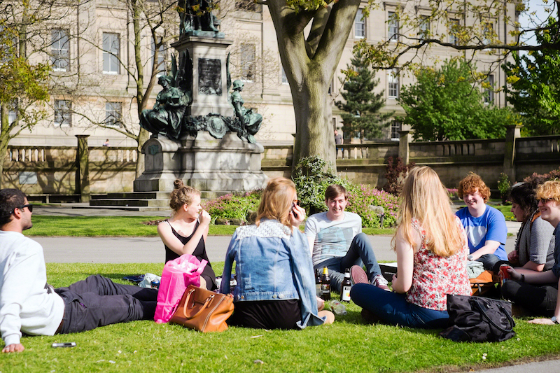top student areas in liverpool_city centre