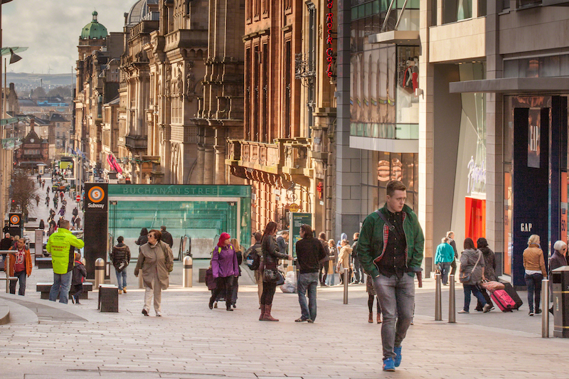 Glasgow Student Guide_Buchanan Street_Shopping