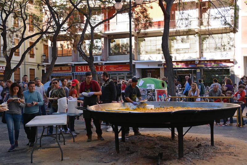 study in Valencia - Paella