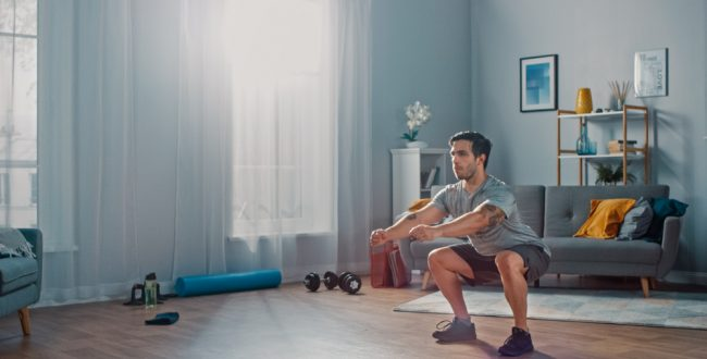 Top Tips: Workout at home
