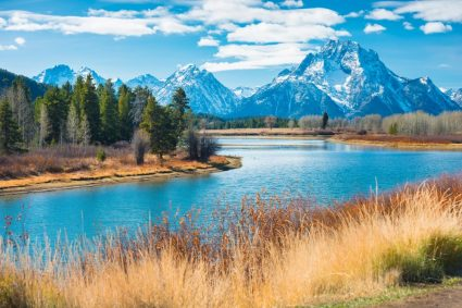 Grand Teton National Park in Wyoming offers amazing views